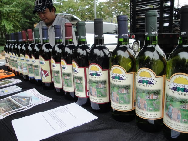 WoodMill Winery Retail Locations